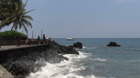 Seawall-at-Kealakehua-Bay-in-Hawaii