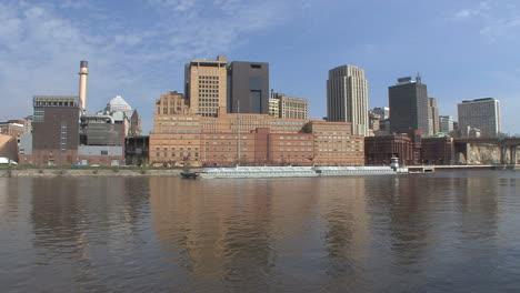 Big-barge-on-Mississippi-St-Paul