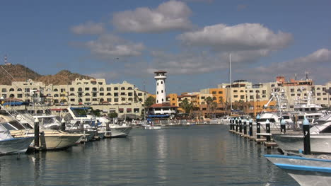 Cabo-San-Lucas-harbor-with-lighthouse