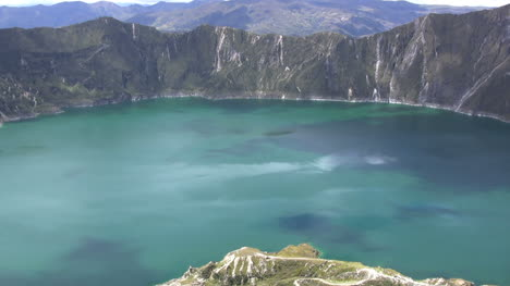 Ecuador-crater-lake-view