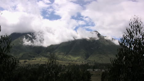 Ecuador-volcano-and-clouds