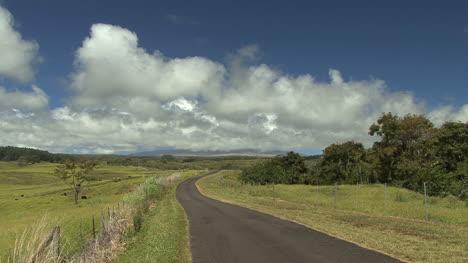 Hawaii-Road-through-countryside
