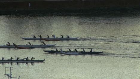 Honolulu-evening-racing-canoes-2