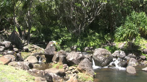 Stream-flowing-over-large-rounded-rocks