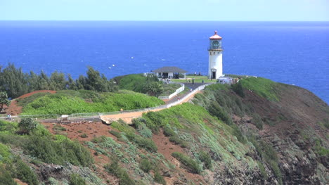 Kauai-View-of-a-lighthouse