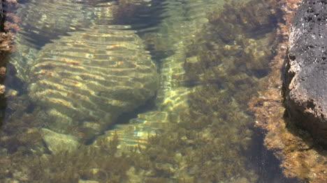 Agua-Kauai-Ondulando-En-La-Piscina-De-Marea-2