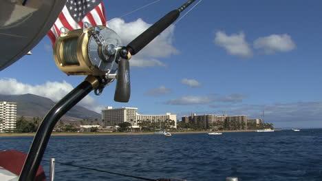 Maui-Fishing-rod-and-flag