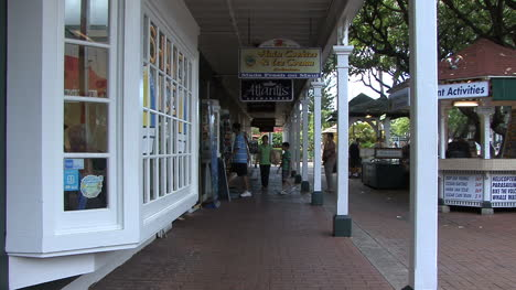 Gente-De-Maui-Lahaina-En-Arcade