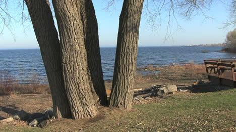 Sping-on-Lake-Michigan