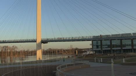 Omaha-Footbridge-and-park