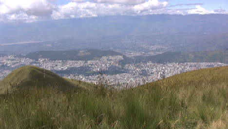 Quito-from-above-with-blowing-grass