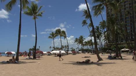 Waikiki-beach-and-hotels