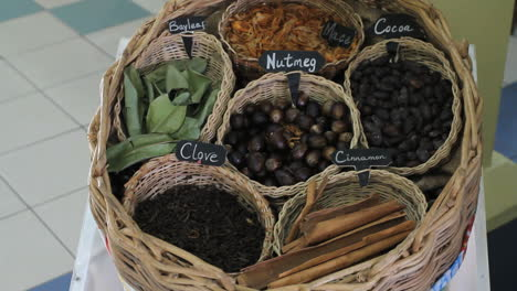 Spices-in-basket
