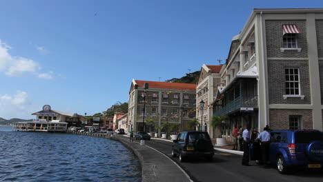 Grenada-St-George-s-waterfront-walkway