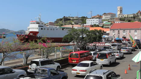 Grenada-St-George-s-traffic