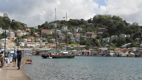 Grenada-St-George-s-waterfront