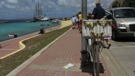 Bonaire-bicycle-in-Kralendiji