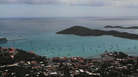 St-Thomas-Harbor-with-many-boats