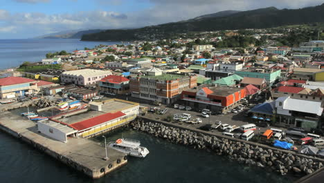 The-Roseau-waterfront-in-Dominica