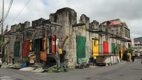 A-colorful-old-building-in-Roseau