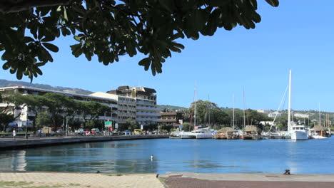 Tahiti-Harbor-view-in-Papeete