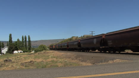 Washington-state-train-cars-passing-steadily