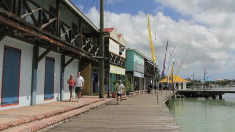 Antigua-St-John\-s-board-walk