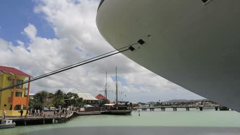 Antigua-Cruise-ship-at-St-John-s