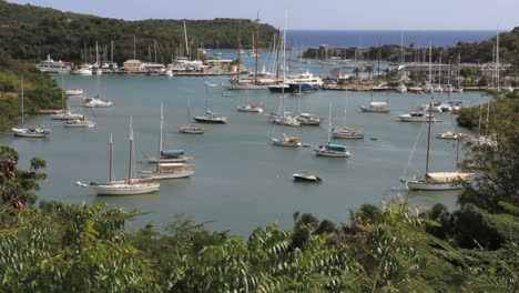 Antigua-Nelson-s-Dockyard-with-boats