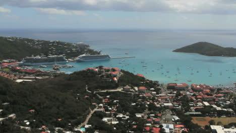 St-Thomas-Harbor-with-cruise-ships
