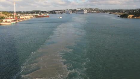 Antigua-leaving-St-John-s-wake