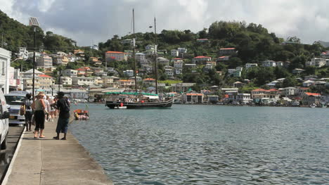 Grenada-St-George-s-seafront