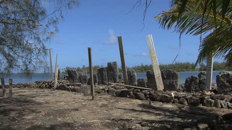 Huahine-sacred-site-with-planks