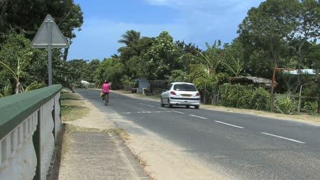 Moorea-woman-on-bicycle