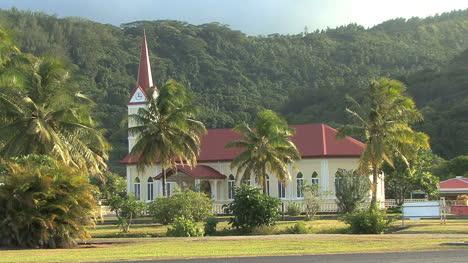 Raiatea-church-and-palms