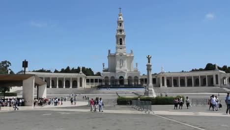 Fatima-church-under-a-clear-blue-sky