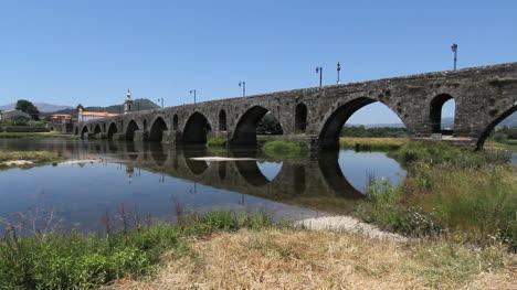 Puente-Romano-En-Ponte-De-Lima
