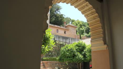 Alhambra-view-through-arch