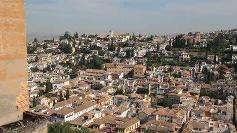 Alhambra-view-of-Granada