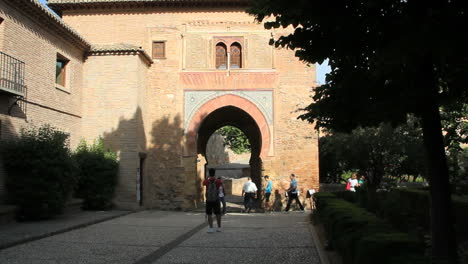 Spain-Andalucia-Alhambra-keyhole-gate-1