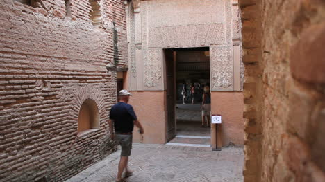 Spain-Andalucia-Alhambra-walks-through-entry