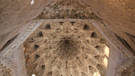 Spain-Andalucia-Alhambra-elaborate-ceiling