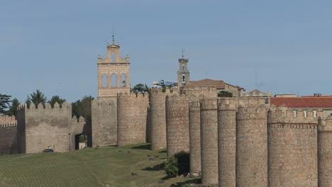 Avila-Spain-view-of-walls