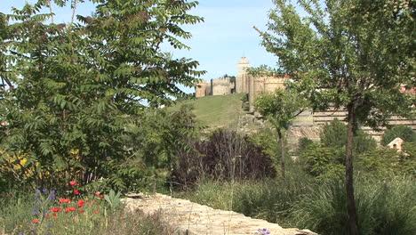 Avila-Spain-walls-and-trees