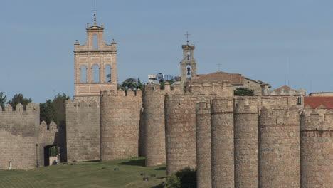 Avila-Spain-walls-gate