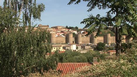Avila-Spain-walls-framed-with-trees-good
