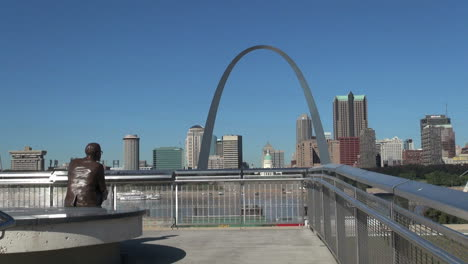 Missouri-St-Louis-Arch-Y-Estatua-S