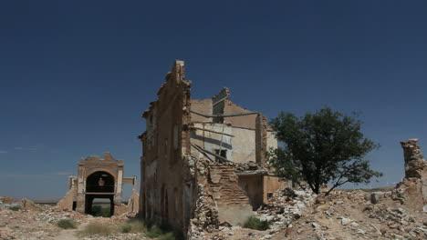 Spain-Aragon-Belchite-bombed-houses