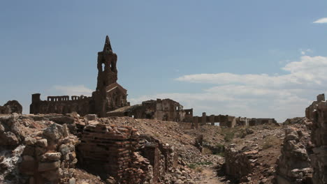 Spain-Aragon-Belchite-church