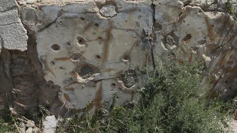 Spain-Aragon-Belchite-Bullet-holes